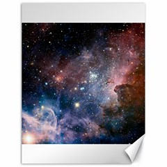 Carina Nebula Ngc 3372 The Grand Nebula Pink Purple And Blue With Shiny Stars Astronomy Canvas 18  X 24  by snek