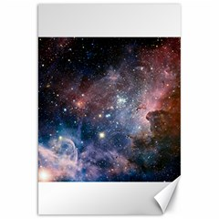 Carina Nebula Ngc 3372 The Grand Nebula Pink Purple And Blue With Shiny Stars Astronomy Canvas 20  X 30  by snek