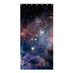 Carina Nebula Ngc 3372 The Grand Nebula Pink Purple And Blue With Shiny Stars Astronomy Shower Curtain 36  X 72  (stall)  by snek