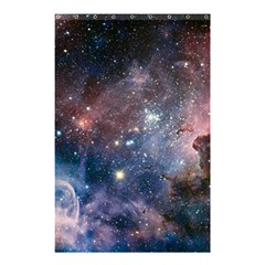 Carina Nebula Ngc 3372 The Grand Nebula Pink Purple And Blue With Shiny Stars Astronomy Shower Curtain 48  X 72  (small)  by snek