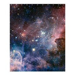 Carina Nebula Ngc 3372 The Grand Nebula Pink Purple And Blue With Shiny Stars Astronomy Shower Curtain 60  X 72  (medium)  by snek