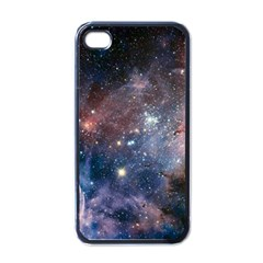Carina Nebula Ngc 3372 The Grand Nebula Pink Purple And Blue With Shiny Stars Astronomy Apple Iphone 4 Case (black) by snek