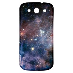 Carina Nebula Ngc 3372 The Grand Nebula Pink Purple And Blue With Shiny Stars Astronomy Samsung Galaxy S3 S Iii Classic Hardshell Back Case by snek