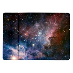 Carina Nebula Ngc 3372 The Grand Nebula Pink Purple And Blue With Shiny Stars Astronomy Samsung Galaxy Tab 10 1  P7500 Flip Case by snek