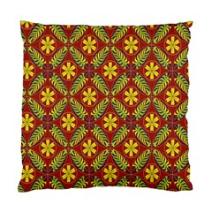 Abstract Floral Pattern Background Standard Cushion Case (one Side)