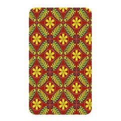 Abstract Floral Pattern Background Memory Card Reader (rectangular)
