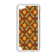 Abstract Floral Pattern Background Apple Ipod Touch 5 Case (white)