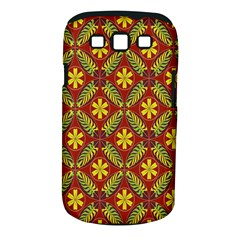 Abstract Floral Pattern Background Samsung Galaxy S Iii Classic Hardshell Case (pc+silicone)