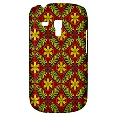 Abstract Floral Pattern Background Samsung Galaxy S3 Mini I8190 Hardshell Case