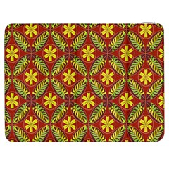 Abstract Floral Pattern Background Samsung Galaxy Tab 7  P1000 Flip Case