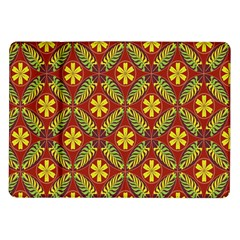 Abstract Floral Pattern Background Samsung Galaxy Tab 10 1  P7500 Flip Case