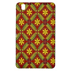 Abstract Floral Pattern Background Samsung Galaxy Tab Pro 8 4 Hardshell Case