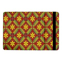 Abstract Floral Pattern Background Samsung Galaxy Tab Pro 10 1  Flip Case