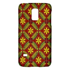 Abstract Floral Pattern Background Samsung Galaxy S5 Mini Hardshell Case