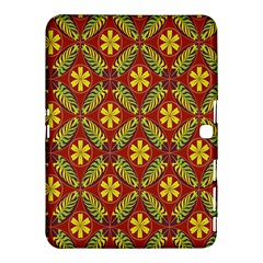 Abstract Floral Pattern Background Samsung Galaxy Tab 4 (10 1 ) Hardshell Case