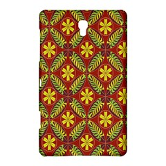 Abstract Floral Pattern Background Samsung Galaxy Tab S (8 4 ) Hardshell Case