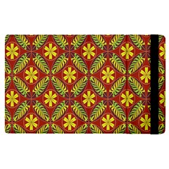 Abstract Floral Pattern Background Apple Ipad Pro 12 9   Flip Case