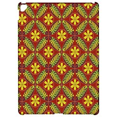 Abstract Floral Pattern Background Apple Ipad Pro 12 9   Hardshell Case