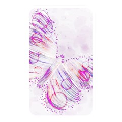 Colorful Butterfly Purple Memory Card Reader (rectangular)