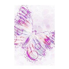 Colorful Butterfly Purple Shower Curtain 48  X 72  (small)