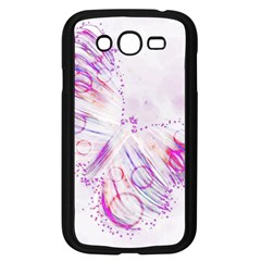 Colorful Butterfly Purple Samsung Galaxy Grand Duos I9082 Case (black) by Mariart