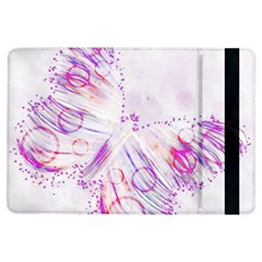 Colorful Butterfly Purple Ipad Air Flip