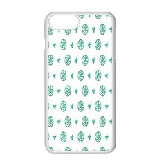 Pattern Background Apple Iphone 8 Plus Seamless Case (white)