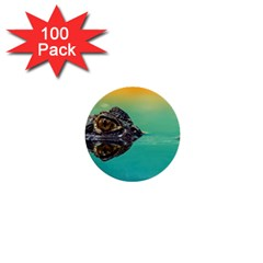 Amphibian Animal 1  Mini Buttons (100 Pack)