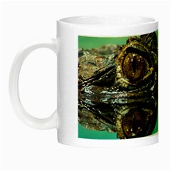 Amphibian Animal Night Luminous Mugs by AnjaniArt