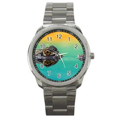 Amphibian Animal Sport Metal Watch