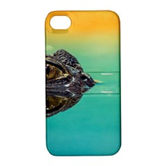 Amphibian Animal Apple Iphone 4/4s Hardshell Case With Stand