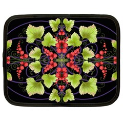 Pattern Berry Red Currant Plant Netbook Case (xl)