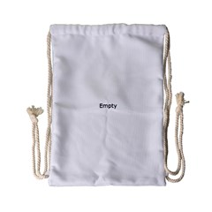 Background Pattern Structure Drawstring Bag (small)