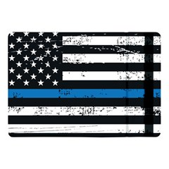I Back The Blue The Thin Blue Line With Grunge Us Flag Apple Ipad Pro 10 5   Flip Case by snek