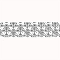 Scarab Pattern Egyptian Mythology Black And White Large Bar Mats