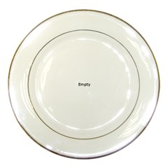 Marble Texture White Pattern Porcelain Plates