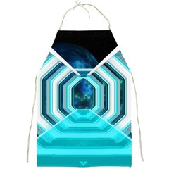 Space Ship Sci Fi Fantasy Science Full Print Aprons