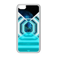 Space Ship Sci Fi Fantasy Science Apple Iphone 5c Seamless Case (white)