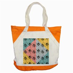 Abstract Christmas Balls Pattern Accent Tote Bag