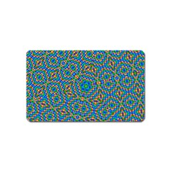 Abstract Background Rainbow Magnet (name Card)