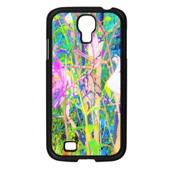 Abstract Oriental Lilies In My Rubio Garden Samsung Galaxy S4 I9500/ I9505 Case (black)