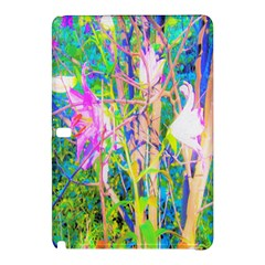 Abstract Oriental Lilies In My Rubio Garden Samsung Galaxy Tab Pro 10 1 Hardshell Case