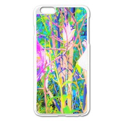 Abstract Oriental Lilies In My Rubio Garden Apple Iphone 6 Plus/6s Plus Enamel White Case