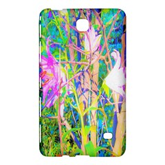 Abstract Oriental Lilies In My Rubio Garden Samsung Galaxy Tab 4 (8 ) Hardshell Case  by myrubiogarden