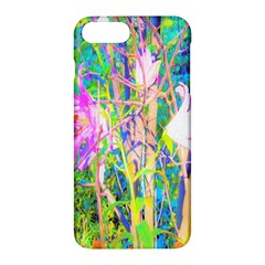 Abstract Oriental Lilies In My Rubio Garden Apple Iphone 7 Plus Hardshell Case