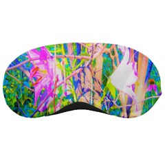 Abstract Oriental Lilies In My Rubio Garden Sleeping Masks