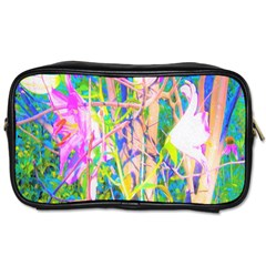 Abstract Oriental Lilies In My Rubio Garden Toiletries Bag (two Sides)