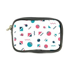 Round Triangle Geometric Pattern Coin Purse