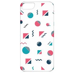 Round Triangle Geometric Pattern Apple Iphone 5 Classic Hardshell Case