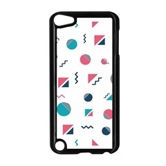 Round Triangle Geometric Pattern Apple Ipod Touch 5 Case (black)